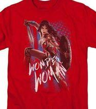 Wonder Woman T-shirt DC comic book Batman superhero graphic cotton tee WWM112 image 3