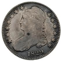 1829 50C Buste Demi Dollar En Fin État, Fort Détail Pour Grade - $94.35