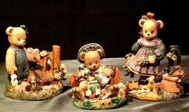 Berry Hill Bears AA-191984 Collectible Young ( 3 pieces ) image 2