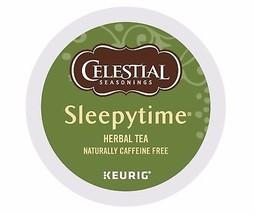 Celestial Seasonings Sleepytime Herbal Tea, 24 count K cups, FREE SHIPPING  - $18.69