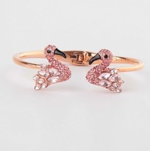 New Kate Spade Bird's The Word Rose Gold Plated Cuff Bracelet w/KS Dust Bag - $40.99