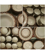Wedgewood, Fine Bone China, Medici R4588, dishes set, 35 pieces - $800.00
