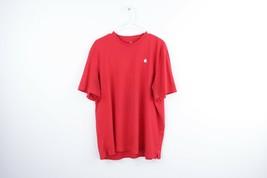 Apple Inc Streetwear Mens 2XL XXL Stitched Logo Short Sleeve Employee Sh... - $29.65