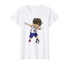 Dad Shirts - Dabbing Soccer Boy South Korea Jersey Shirt Korean Football... - $19.95+