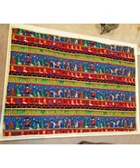 """Baby Crib Lap Quilt or Play Mat 46"""" x 34"""" Cowboy Boots - $29.88"""