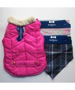 Pet Jacket, 2X Bandana Pink Multi-Color  Dog ,Cat NWT Sz S - $18.80