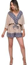 Boho Romper Kimono Romper Kimono Sleeves - $48.00