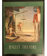 1952-1953 THE BALLET THEATRE PROGRAM - NICE PHOTOS - J 2613 - $74.25