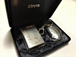 "ZIPPO Limited Edition DRAGON QUEST VII ""Warriors of Eden"" Lighter & Key ... - $75.00"