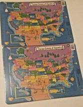 Teach Kids the United States of America and Capitols Jigsaw Puzzles,16 P... - $9.89