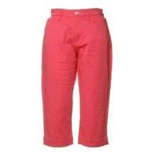 Lee Coral Mid Rise Petite Women Capri Size: 4P - $14.56