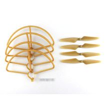 Hubsan H501S H501C RC Quadcopter Sapre Parts Gold CW/CCW Propellers & Protection - $18.60
