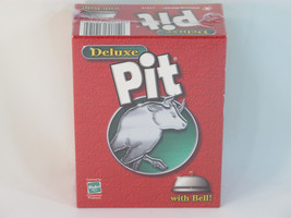 Pit Deluxe 2002 Card Game with Bell Hasbro Winning Moves NEW Sealed - $14.73