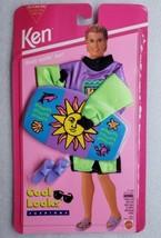 Barbie Ken Cool Looks Fashions Body Surfin' Fun 1994 Mattel 12607 - $17.81