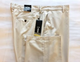 New Adidas Men's Basic Pants Climalite Khaki Beige 42W X 30L - $47.43