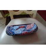 Vera Bradley barrel style cosmetic bag in seaside canvas - $15.00