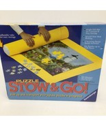 RAVENSBURGER Puzzle Stow & Go Mat Measures 46 x 26 inches New- Box has a... - $14.01