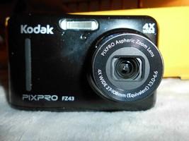 Kodak PIXPRO FZ43 16 MP HD Video 4X Optical Zoom AA Battery Digital Came... - $29.69