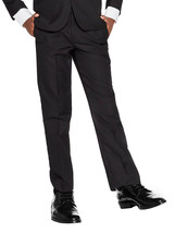 vkwear Boys Kids Juniors Slim Fit Flat Front Dress Pants Slacks Trousers image 1
