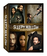 Sleepy Hollow The Complete Series Seasons 1-4 (DVD 2017 18-Disc BoxSet) ... - $37.95