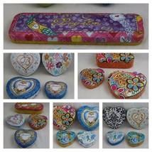 Brighton Heart/Watch/Rectangle Shape Jewelry Tin Trinket Gift Boxes EMPTY - $12.86+