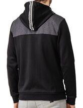 Hugo Boss Men's Premium Zip-Through Hoodie Sweatshirt Jacket With Curved Logo image 3
