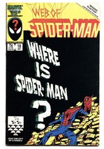 Web Of Spider-man #18 comic book Marvel Venom cameo VF- - $30.26