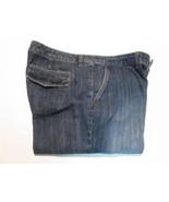 Liz&Co. Women's Jeans Size 14 Stretch Wide Leg Dark Wash Denim #E2 - $19.99