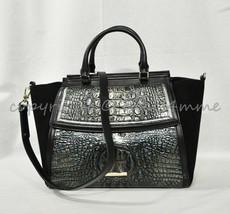 NWT Brahmin Taylor Leather Satchel/Shoulder Bag in Agate Partridge - $379.00