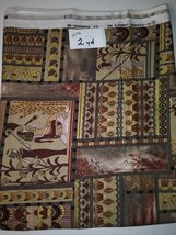 Egyptian Print Fabric, Hi-Fashion Fabrics, Inc. Pharaoh-M1, 2 Yard (H172) - $4.00