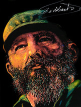 Cuban poster.Fidel CASTRO Signature political.History..Home interior wal... - $11.30+
