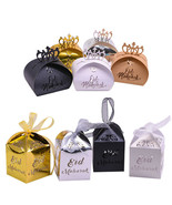 Candy Boxes 10/20pc/lot Eid Mubarak Favor Box DIY Paper Gift Packaging H... - $5.00+