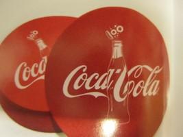 BRAND NEW Coca-Cola Life Green Terra Cotta Coaster