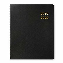 """Monthly Planner Academic Year 2019-2020, Twin-Wire Bounded, 8.5""""x11"""", La... - $9.50"""