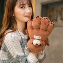 Lovely Cartoon Bear Female Gloves Warm Thick Winter Mittens Cute Claw Gi... - $376,62 MXN