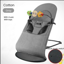 Baby Bouncer Chair with Cotton Cover Soft Bouncer with Music - $74.25+