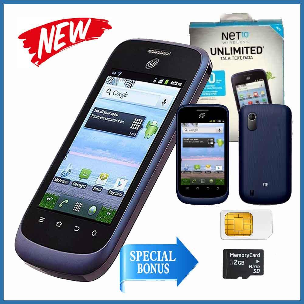 New! Net10 Wireless ZTE Midnight Z768G and 28 similar items