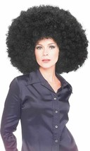 Rubies Super Oversized Black Afro Wig Adult Halloween Costume Accessory ... - £10.53 GBP