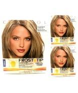 3 Clairol Frost & Tip Hair Highlighter Cap Hook Nice 'n Easy Dark Blonde... - $29.67