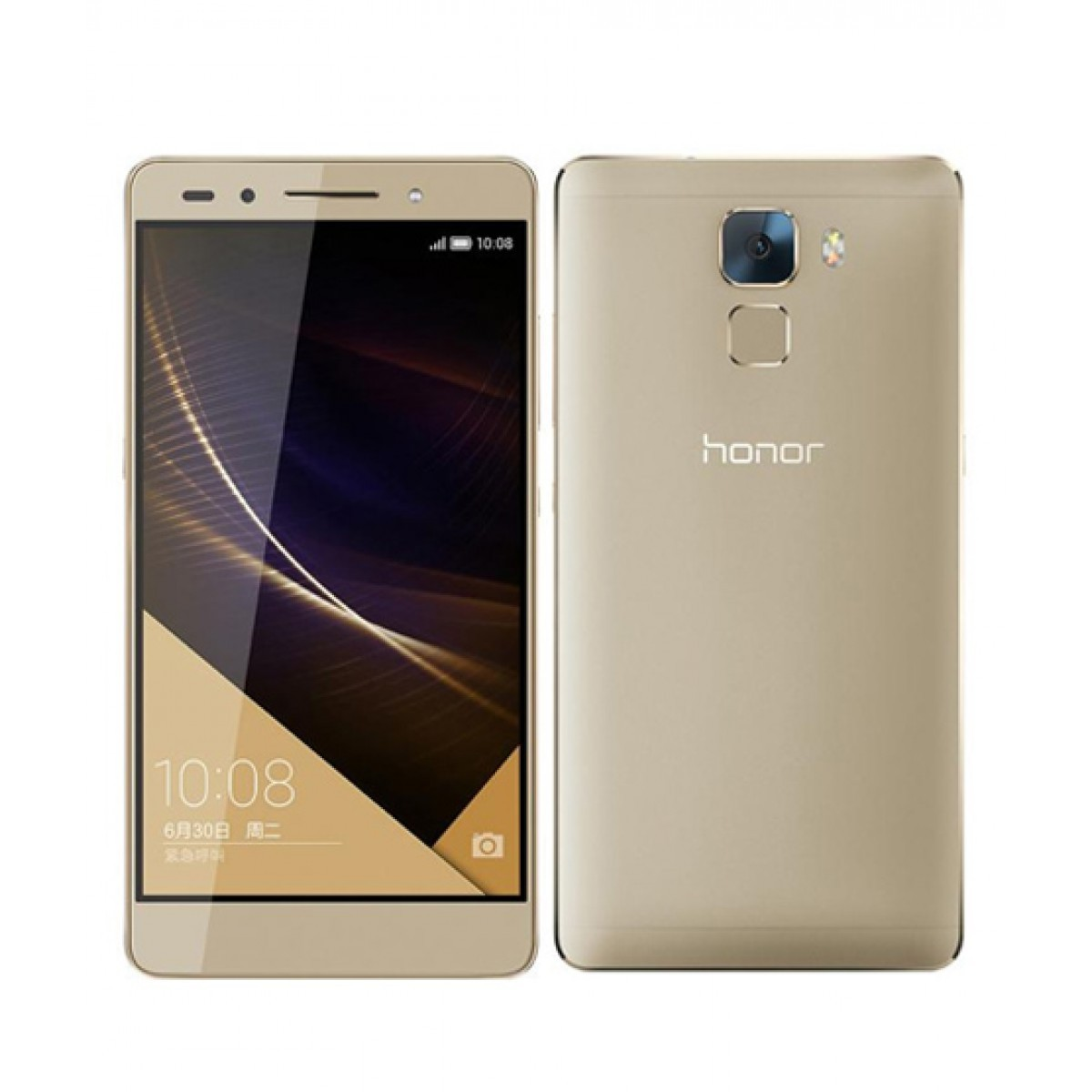 unlocked huawei honor 7 gold 3gb ram 16gb rom 20mp android 5.0 4g lte smartphone