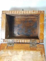 VINTAGE CLARITE HIGH SPEED COLUMBIA TOOL STEEL CO. WOODEN BOX image 9