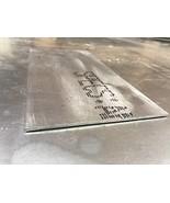 "1 Pieces of Titanium Plate 6AL4V - 6"" Width x 12"" Long x .020"" Thickness - $43.56"