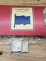 Longaberger Old Glory Tie On in Original Box - $7.62
