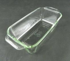 Vintage Pyrex Loaf Pan Clear Glass 1.5 Qt 213-R Bread Meatloaf - $9.89