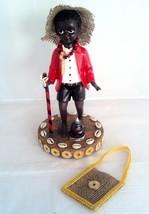 10.5 Inch Statue Baby Elegua w/Corn & Coins Figurine Santeria Yoruba Santeria - $42.00