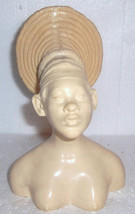"""A. SANTINI Marble Resin """"African woman Bust Head"""" Collectible Figure - $289.99"""