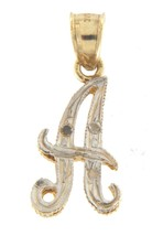 Unisex 10kt Yellow and White Gold Charm - $79.00