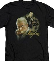 The Lord of the Rings Legolas Elf Woodland Realm graphic t-shirt LOR1016 image 3
