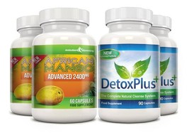 Pure African Mango 2400mg & Detox Cleanse Combo Pack 2 Month Supply - $64.99