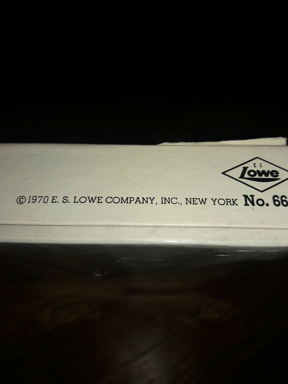 Vintage Michigan Rummy E.S. Lowe co. NO.66 1970 new in box